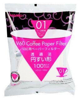 Hario Papierfilter V60 01, 1-2 Tassen