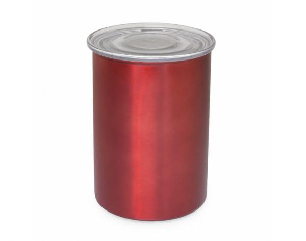 AirScape Kaffeebehälter Edelstahl Rot, groß