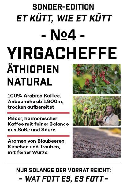 Äthiopien Yirgacheffe Natural - Et kütt, wie et kütt - No.4