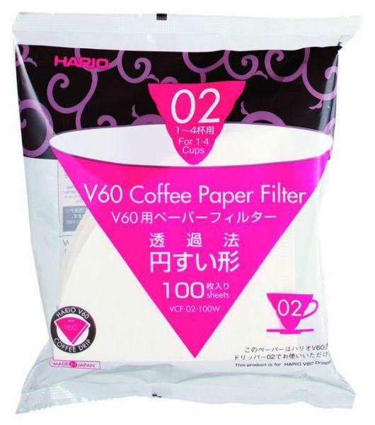 Hario Papierfilter V60 02, 2-4 Tassen