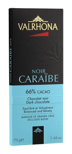 Valrhona Caraibe, Dunkle Schokolade mit 66% Kakao