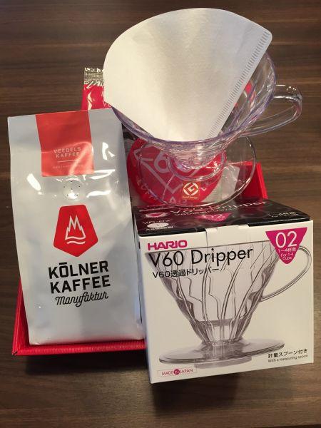 Geschenk-Set Filterkaffee