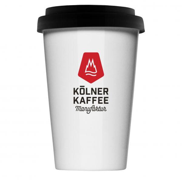 "ToGo-Becher Porzellan ""Kölner Kaffeemanufaktur"""