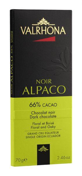 Valrhona Alpaco, Dunkle Schokolade mit 66% Kakao