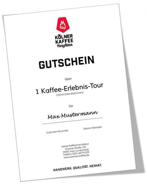 Gutschein Kaffee-Erlebnis-Tour